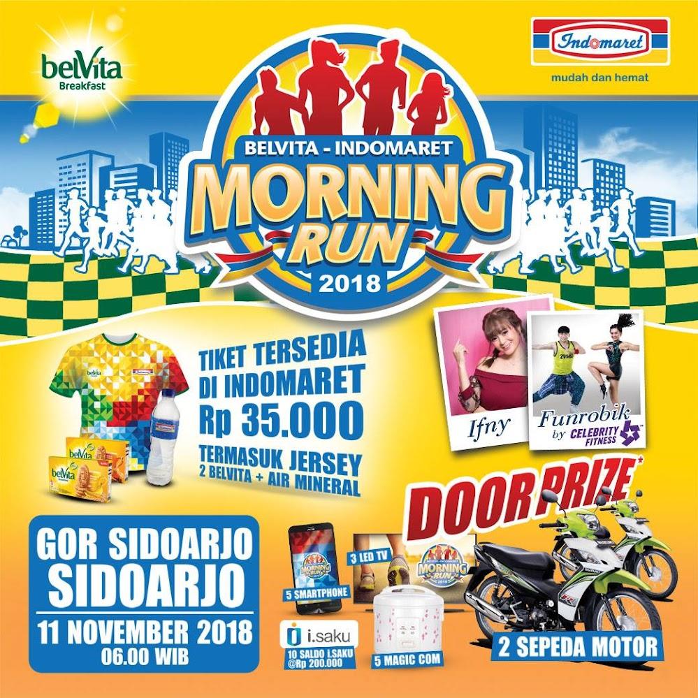 Belvita-Indomaret Morning Run Sidoarjo 2018