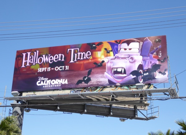Halloween Time Vampire Mater billboard