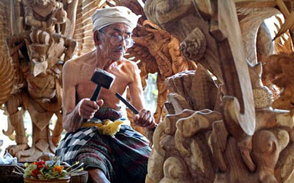 Mas Wood Carving - Bali Kintamani Volcano Day Tour - Bali Places of Interest