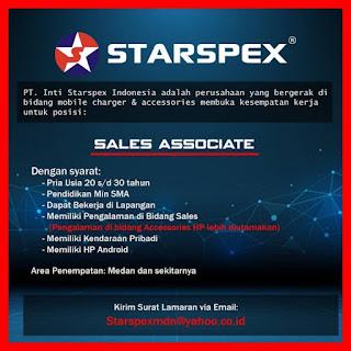 Sales Associate di PT Inti Starspex Indonesia