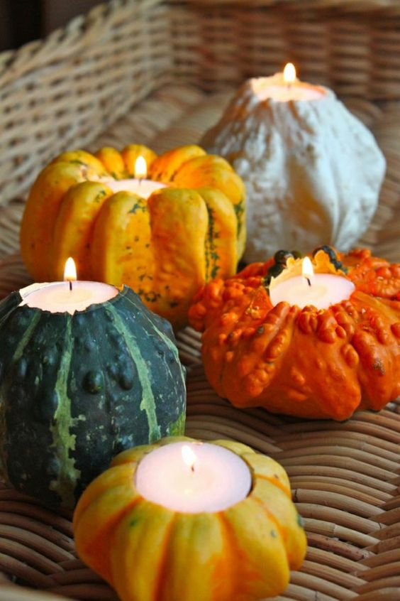 simple home decoration idea for thanksgiving day