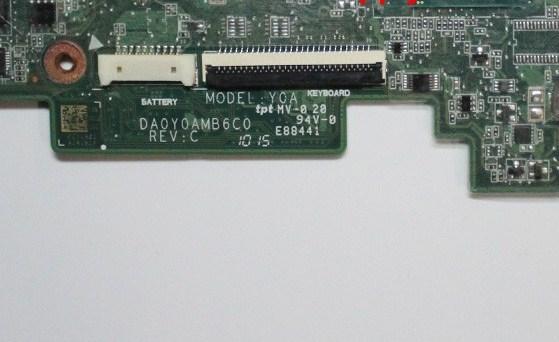 DA0Y0AMB6C0 REV-C Hp 11-d010wm Bios