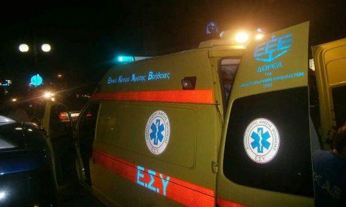 Στο Νοσοκομείο μεταφέρθηκε οδηγός ΙΧ αυτοκινήτου μετά από τροχαίο που είχε στην οδό Σάββα Νικολάτου.