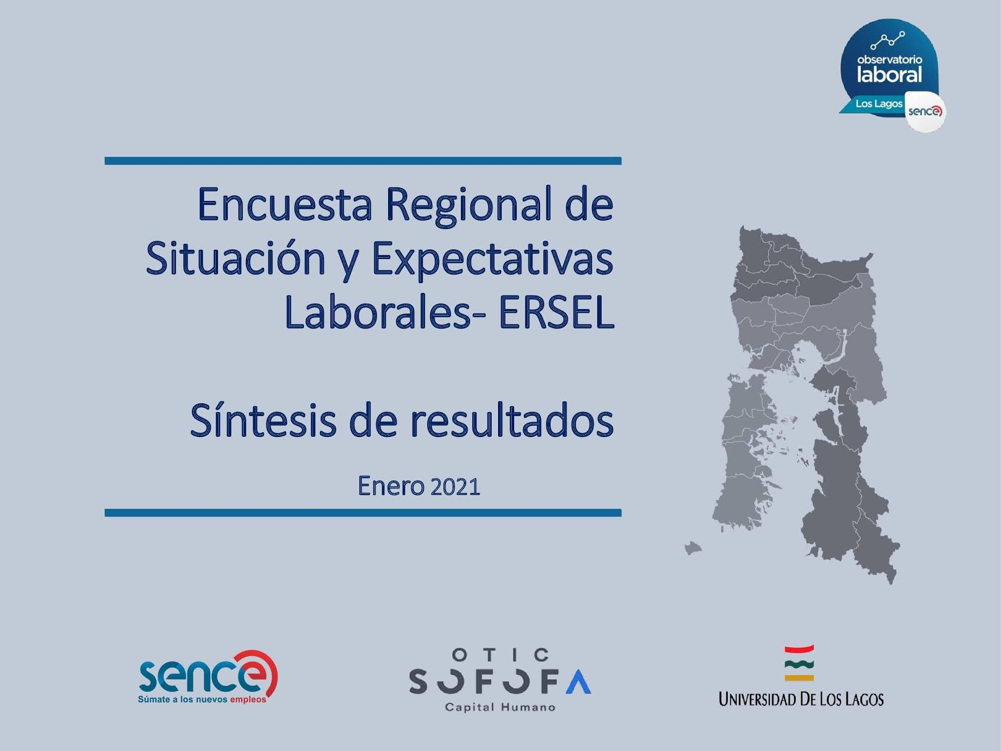 Regional de Situación y Expectativas Laborales