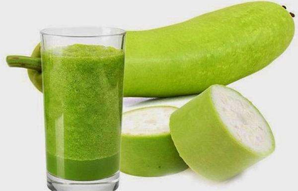 Nước ép bí đao giúp giảm cân gọn dáng