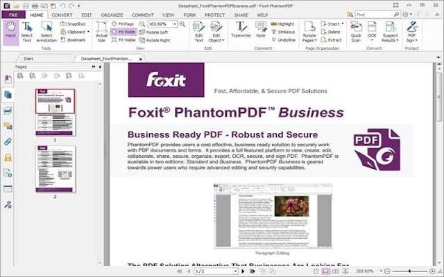 Foxit PhantomPDF Business 9.7.0.29478 - Giải pháp chỉnh sửa PDF