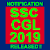 SSC Combined Graduate Level Exam 2019 Notification Released!