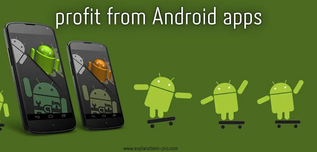 profit from Android apps
