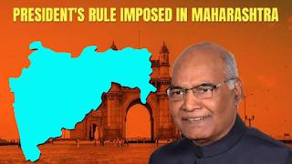 President's Rule in Maharashtra - News Hindi