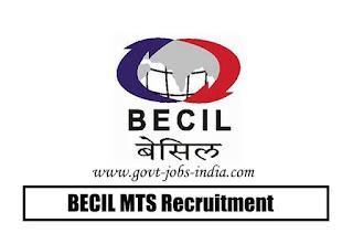 BECIL MTS Recruitment 2020