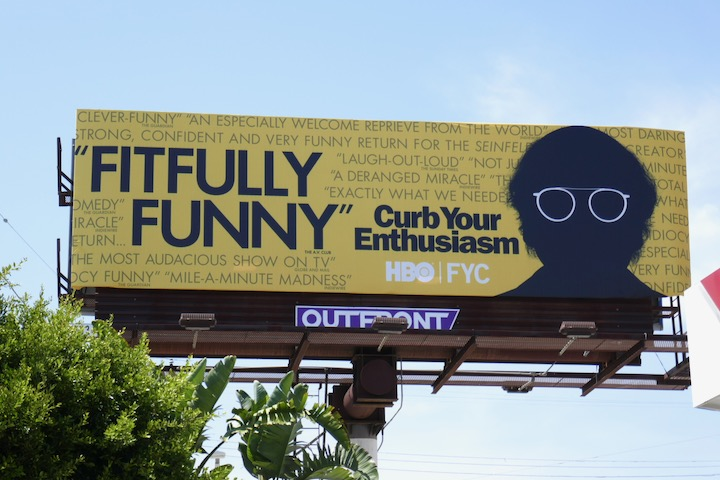 Curb Your Enthusiasm season 10 Emmy FYC billboard