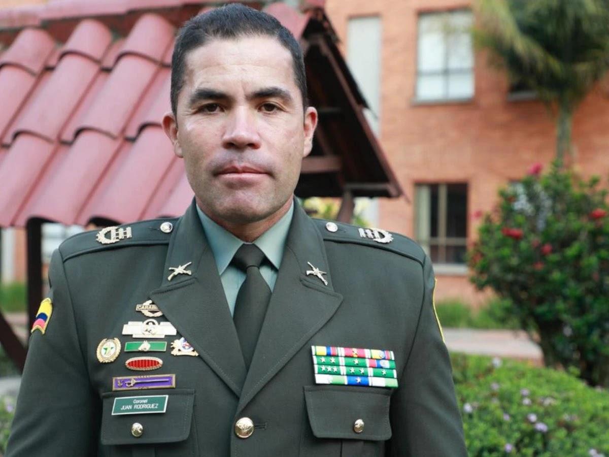 Renuncia el general Juan Carlos Rodríguez comandante de la Policía Metropolitana de Cali
