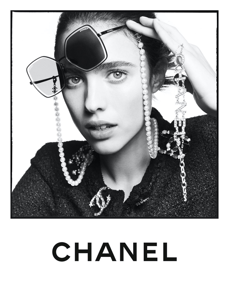 Margaret Qualley stars in Chanel Eyewear spring-summer 2020 campaign