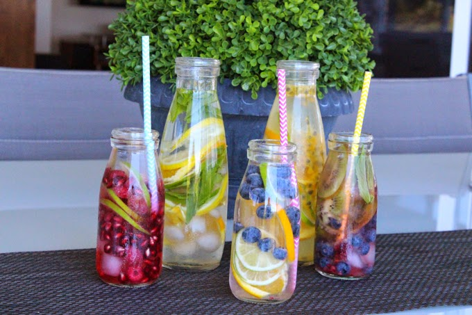 DIY Flavoured Fruit Water | Cate Renée