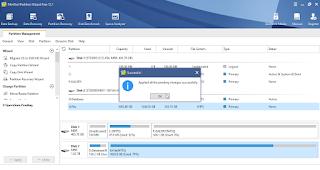 Cara Format HDD Dari Format NTSC Ke FAT32 Dengan Mini Tool Partition