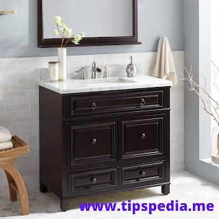 Espresso Bathroom Cabinet