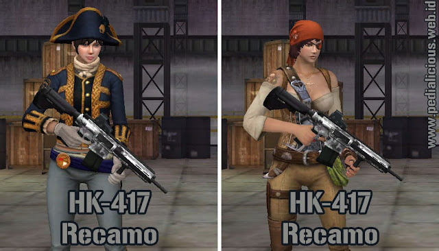 Preview Senjata HK-417 Recamo Point Blank Zepetto Indonesia