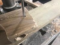 1/4 inch hole