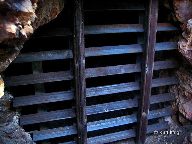 Sadly the Dawn Mine's upper and lower tunnels were sealed forever in June of 2017.