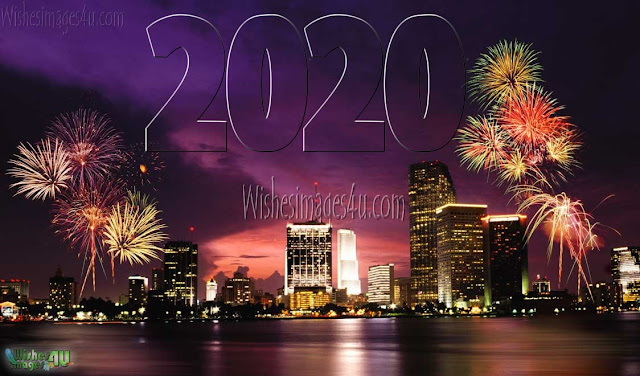 Happy New Year 2020 Full HD Fireworks Pictures Download