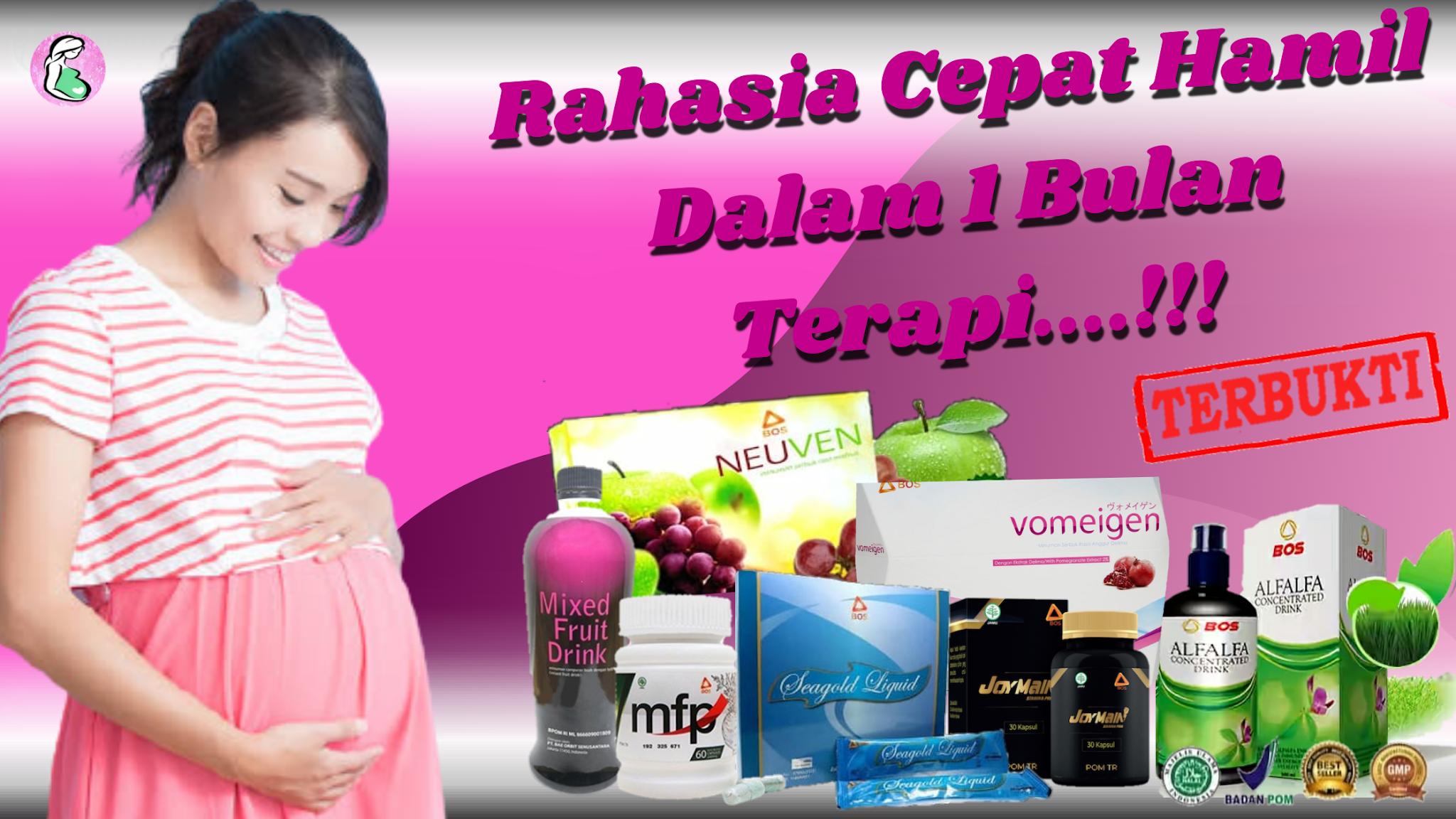 obat cepat hamil herbal