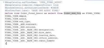 ABAP CDS Tutorials and Materials, SAP ABAP Certifications