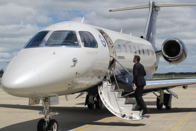 Mira el jet privado de $20 millones de Jackie Chan