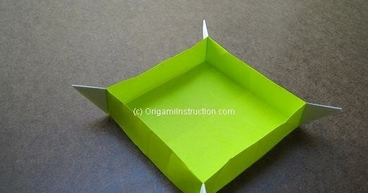 Easy Origami Chopstick Holder