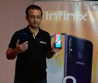Infinix launch hot8 Mobile