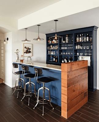 แบบห้องครัวบาร์นั่ง