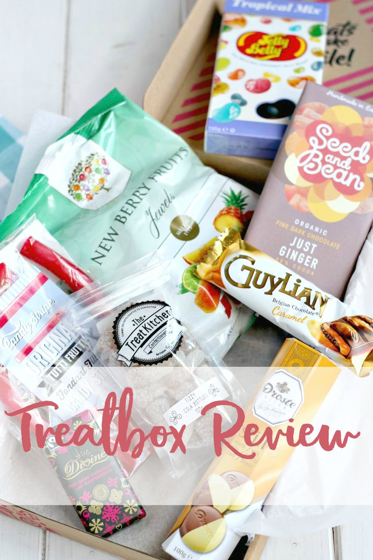 A review and giveaway of treatbox - a monthly subscription box for sweet lovers