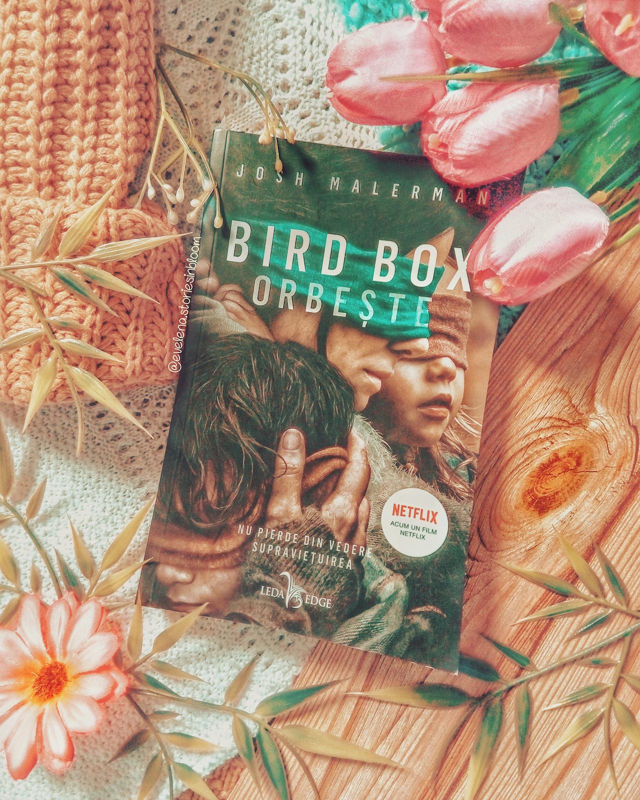 Bird Box - Josh Malerman - Disparitia lui Daniel Tate - Cristin Terrill - pareri review recenzie