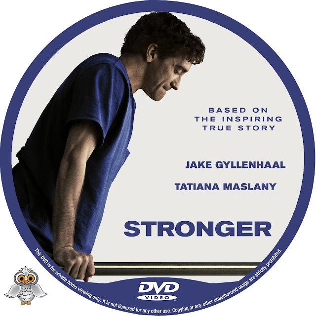 Stronger DVD Label