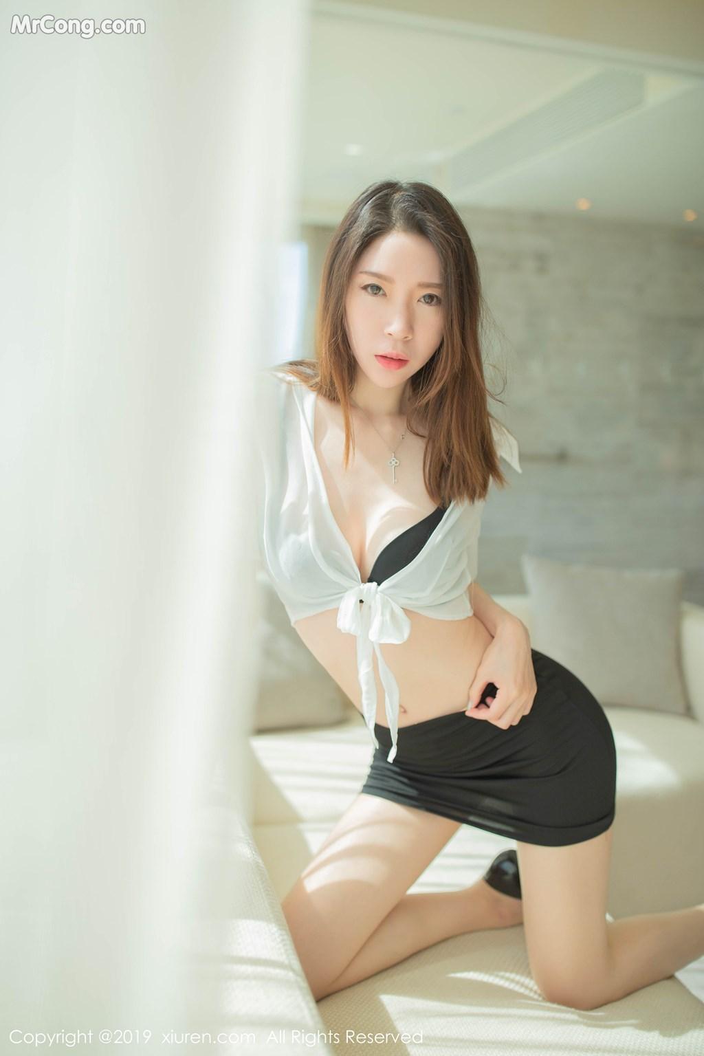 Image XIUREN-No.1645-Meng-Xin-Yue-MrCong.com-003 in post XIUREN No.1645: Meng Xin Yue (梦心月) (96 ảnh)