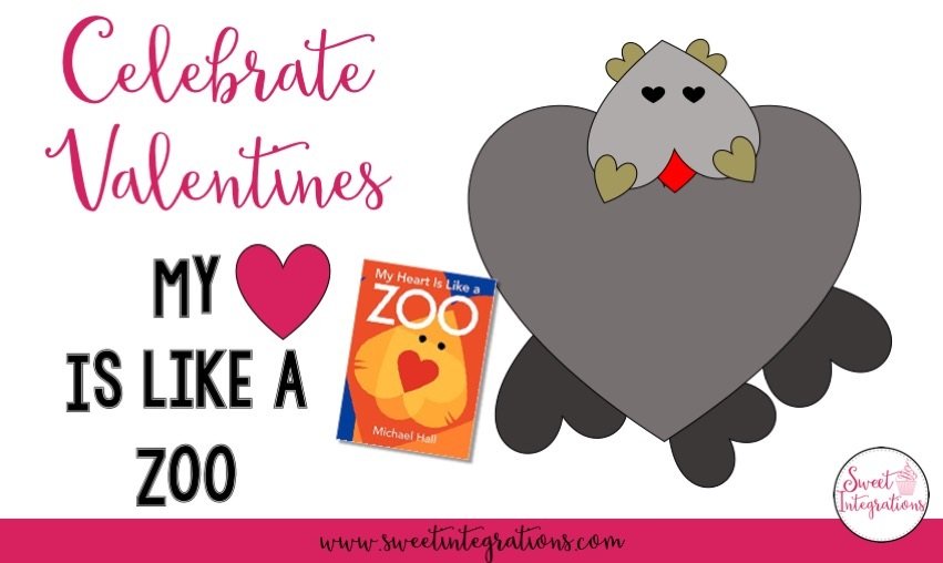 Celebrate Valentines with the precious book My Heart is Like a Zoo. Students can read the book to learn more about similes and use Google Slides to create their own zoo animal made of hearts.