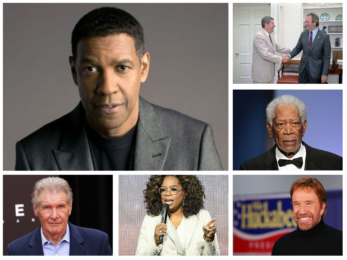 Top 10 U.S. Celebrities Who Should Run For President