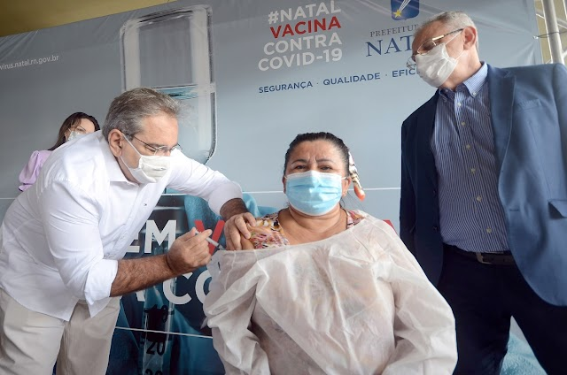 Prefeito Álvaro Dias sanciona Lei que permite a Natal comprar vacinas