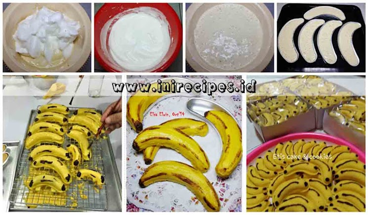 Resep Banana Cotton Cake Ala Ny. Liem Yang Popular Itu