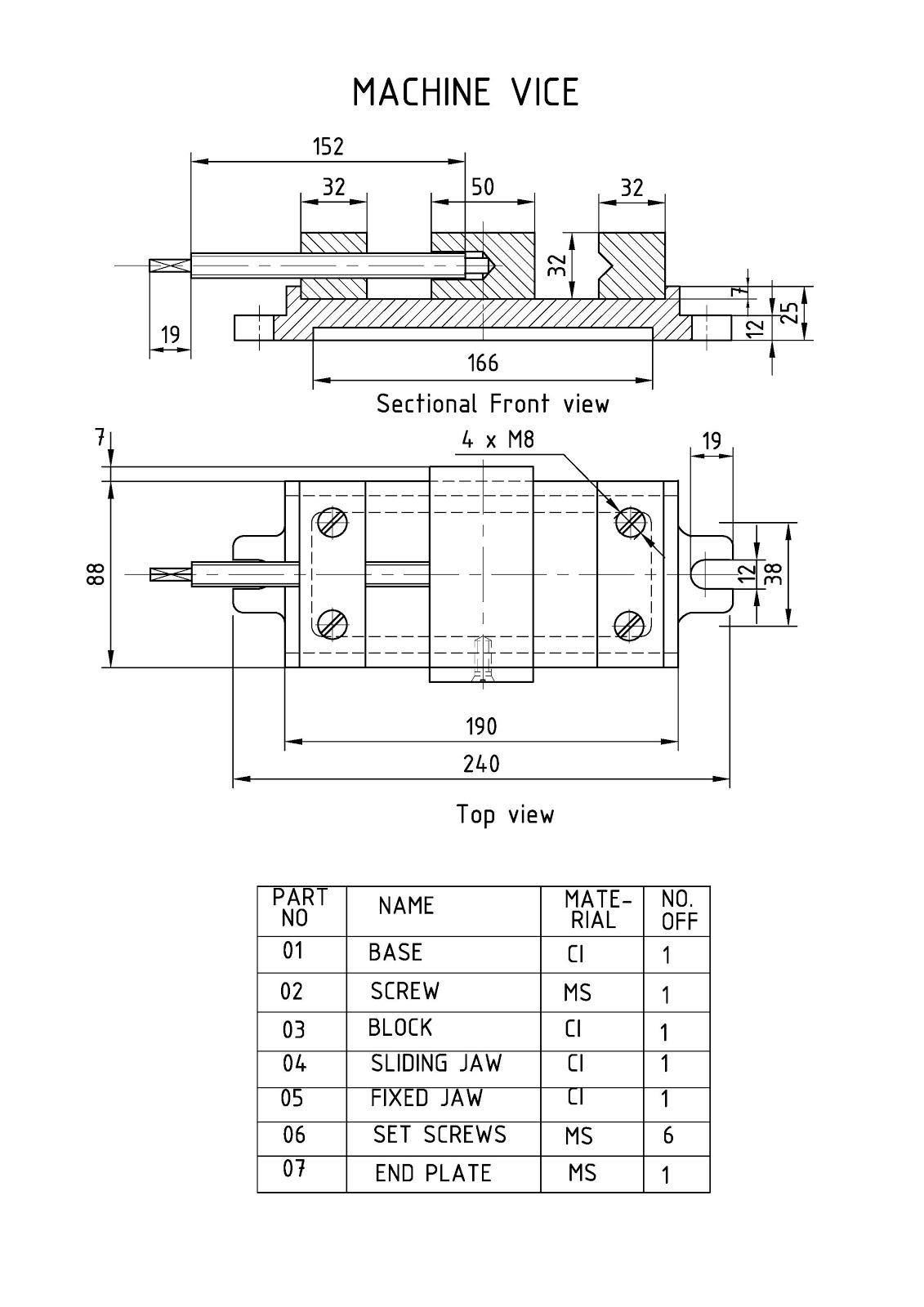 Machine Drawing Pdf File