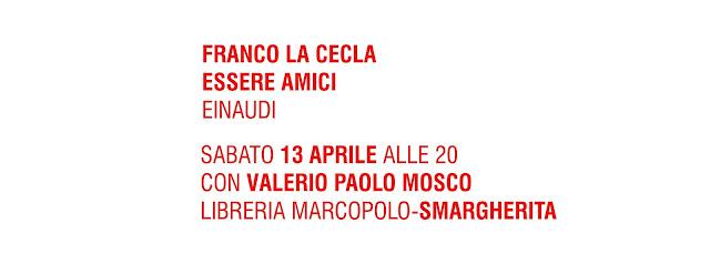 FRANCO LA CECLA ALLA LIBRERIA MARCOPOLO - sabato 13 aprile alle 20
