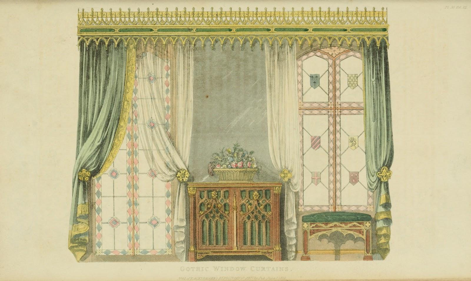 Ekduncan My Fanciful Muse Regency Era Curtains