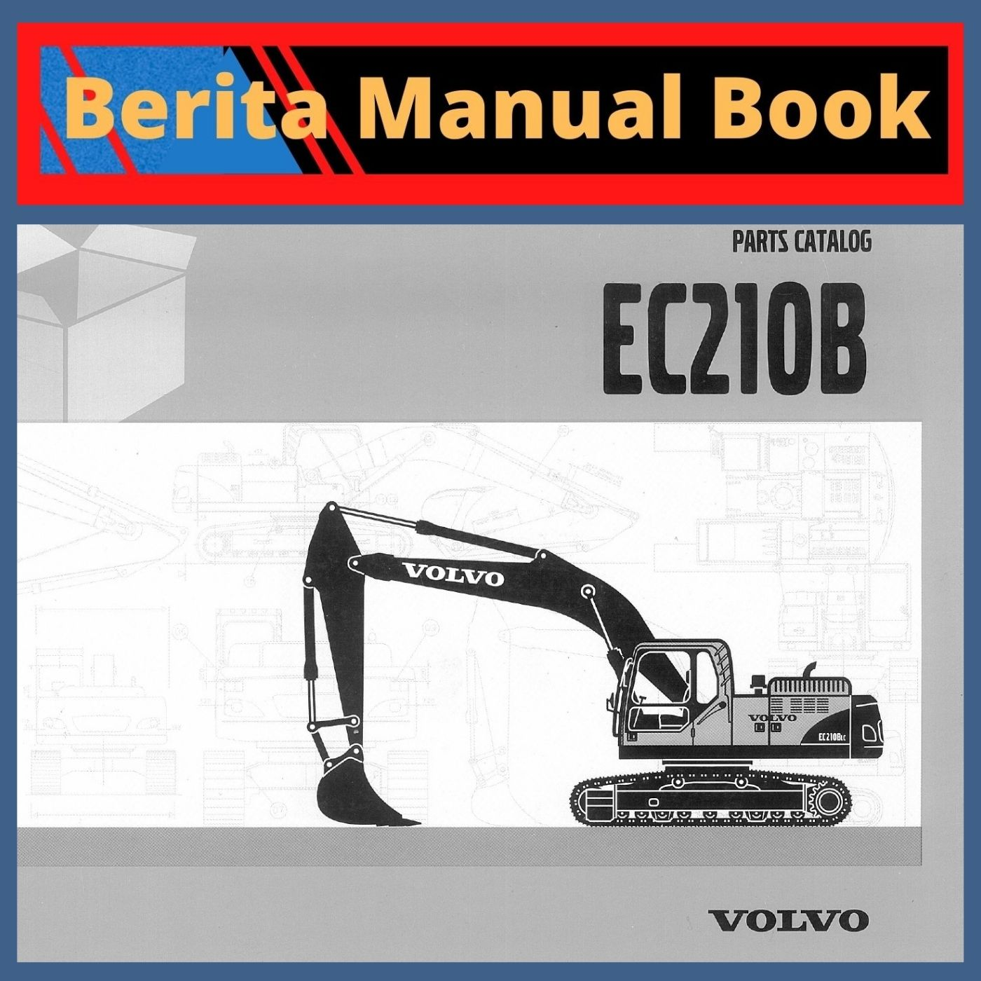 Volvo parts catalog ec210b excavator