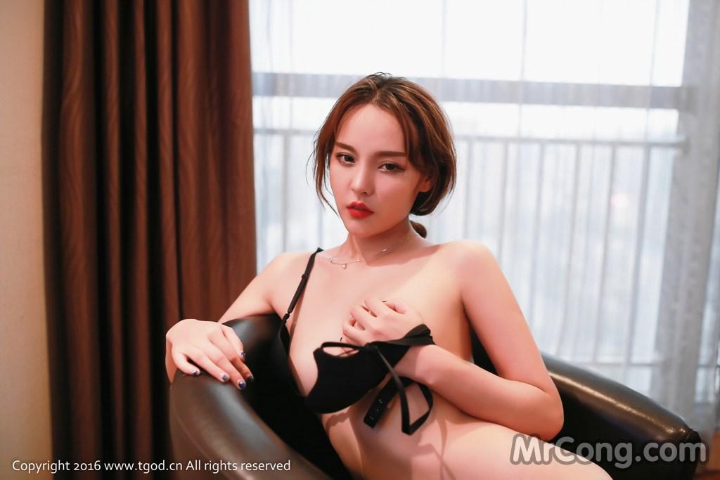 Image MrCong.com-TGOD-2016-07-22-Zhan-Ni-Hua-022 in post TGOD 2016-07-22: Người mẫu Zhan Ni Hua (珍妮花) (40 ảnh)