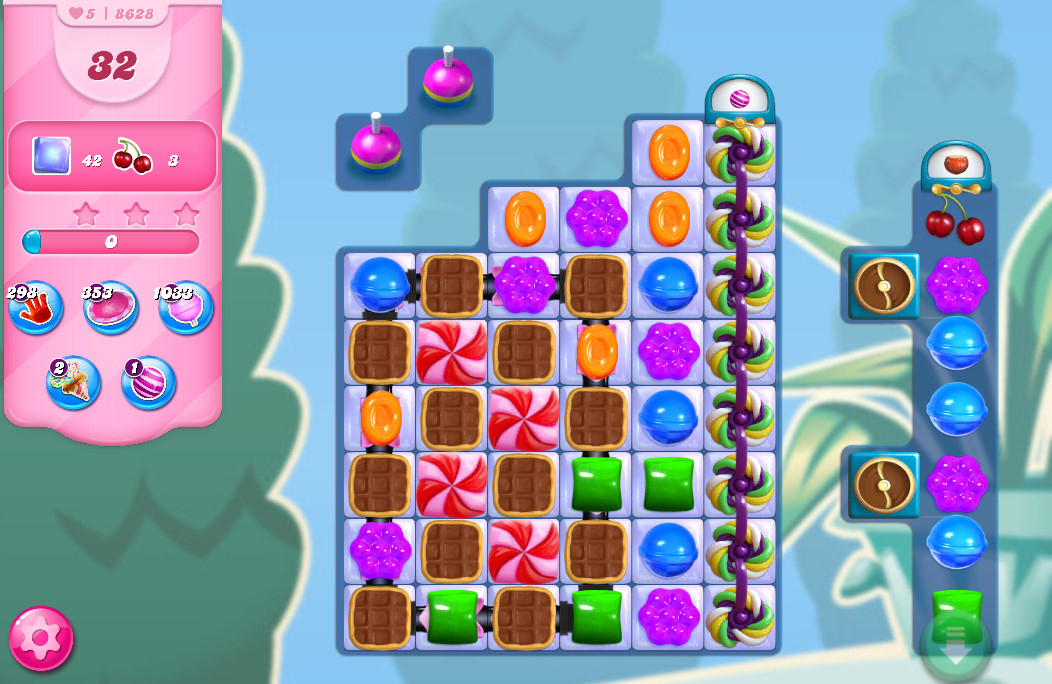 Candy Crush Saga level 8628
