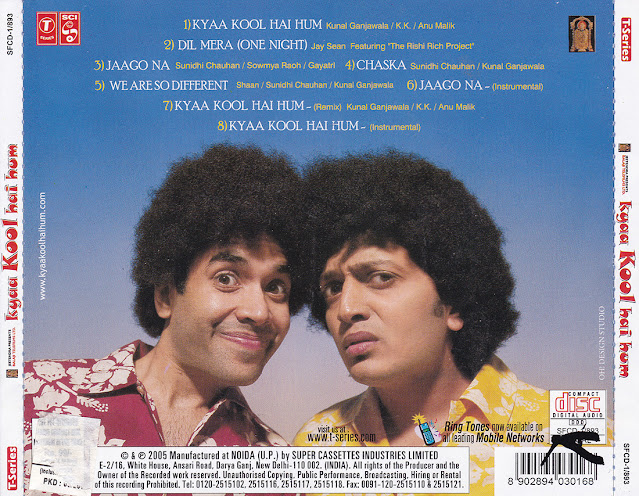 Download Kya Kool Hai Hum [2005-MP3-VBR-320Kbps] Review
