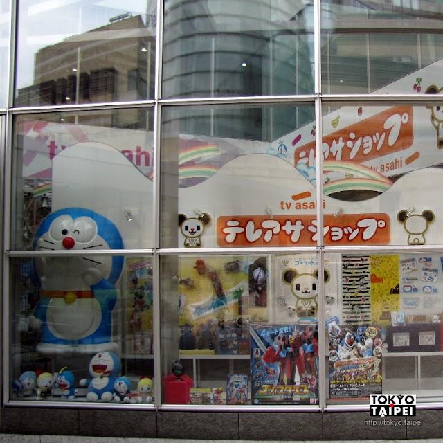 【朝日電視台】到六本木找電視台兩大台柱哆啦A夢和蠟筆小新