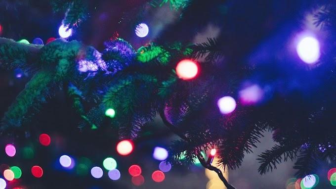 Plano de Fundo Pisca Pisca de Natal