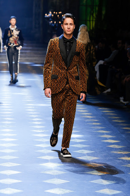Juanpa Zurita Dolce & Gabbana Fall Winter