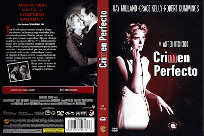 Cover, dvd, caratula: Crimen perfecto | 1954 | Dial M for a Murder
