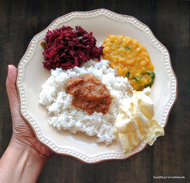 South Indian Lunch Platter